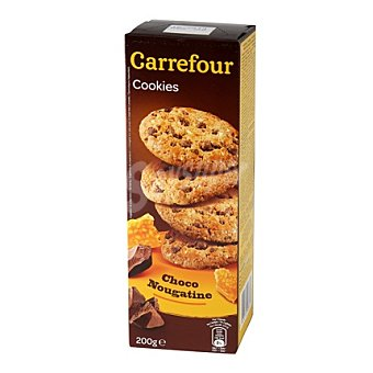 Carrefour Galletas con chocolate y nougatine 200 g
