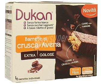 Barrita de avena y chocolate Pack 4 x 30 g