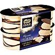 Mousse de chocolate blanco con finas y crujientes láminas de cacao Pack 4 unidades 57 g Nestlé Gold