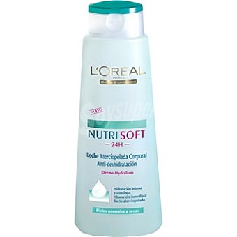 Body Expertise L'Oréal Paris Crema corporal Nutri Soft hidratación intensa piel normal a seca Frasco 400 ml