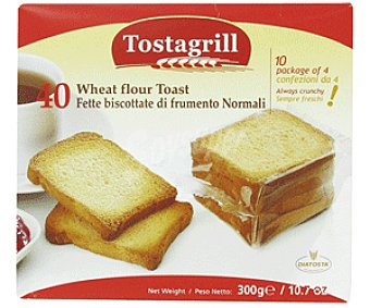 Tostagrill Biscottes Normales Multipackl 300 Gramos