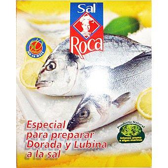 Roca sal especial para preparar dorada y lubina Paquete 1,5 kg