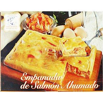 Ahumados Domínguez Empanada de salmón Envase 400 g