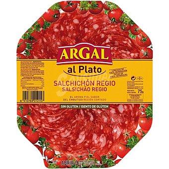 Argal Salchichón Regio en lonchas Sin Gluten 75 g