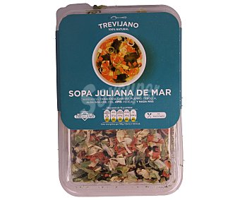 Trevijano Sopa juliana de mar deshidratada Bandeja 100 g