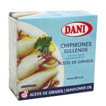 Dani Chipirón relleno en aceite vegetal Lata 185 g
