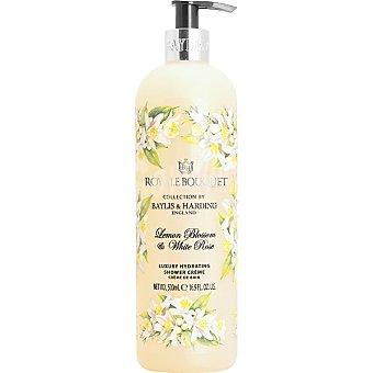 BAYLIS & HARDING Royale Bouquet gel de ducha Limón y Rosa Blanca cremoso dosificador  500 ml