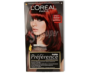 Recital Preference L'Oréal Paris Tte Rojo Oscuro P37 1u