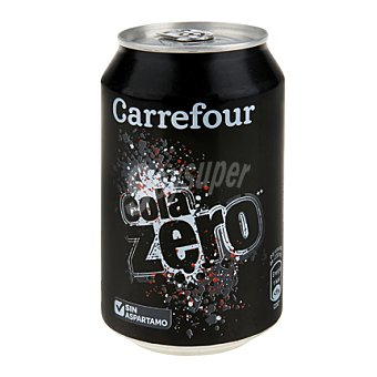 Carrefour Refresco de cola Carrefour zero Lata 33 cl