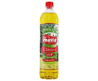 La Masía Aceite de oliva sabor suave Botella de 1 l