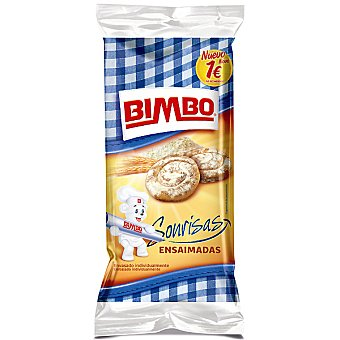 BIMBO ensaimadas bolsa 146 g 4 unidades