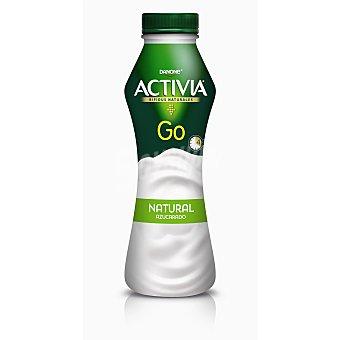 Activia Danone Go yogur líquido natural botella 280 g botella 280 g