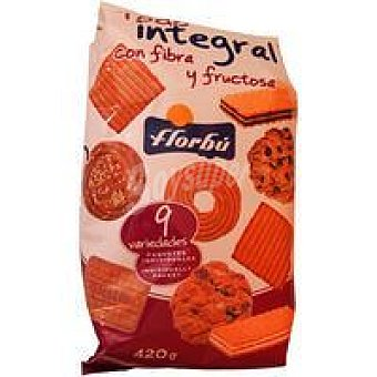 Florbú Surtido galletas integral 420 g