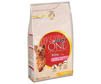 Purina One Comida para perros My Dog con Pavo y Arroz 1,5 kg