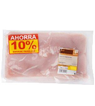 Carrefour Pechuga de pollo extra fileteada Bandeja de 1200.0 g.