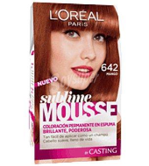 Sublime Mousse L'Oréal Paris Tinte nº 642 Mango 1 ud