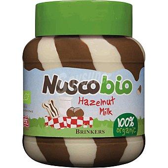 Nuscobio Crema de avellanas y chocolate bicolor ecologica Envase 400 g