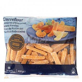 Carrefour Tiras de Potón del Pacifico rebozadas Carrefour 400 g