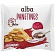 Panettines sabor a barbacoa sin gluten bolsa 90 g bolsa 90 g Alba