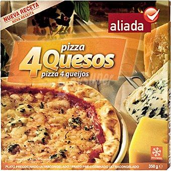 Aliada Pizza 4 quesos Estuche 350 g