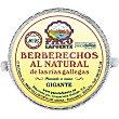 Berberechos al natural de las rías gallegas 20-25 piezas lata 75 g neto escurrido Lata 75 g neto escurrido Paco lafuente