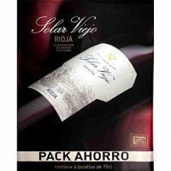 Solar Viejo Vino Tinto Rioja Pack 6x75 cl