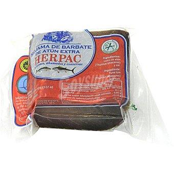 Herpac Mojama de atún extra peso aproximado pieza 300 g 300 g