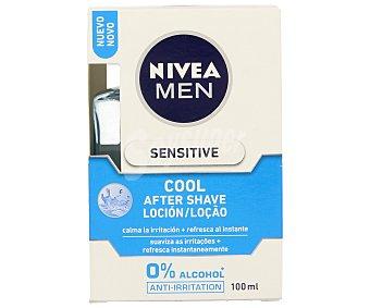 Nivea After shave loción Sensitive Cool sin alcohol Frasco 100 ml