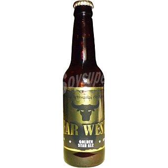 Far West Golden Star Ale cerveza artesana de Almeria botella 33 cl Botella 33 cl