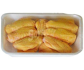 Bandeja de alas enteras y con piel de pollo amarillo bonpollo 600 gramos aproximados