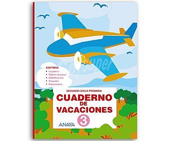 Anaya Cuaderno Vacaciones 3º 1 Unidad