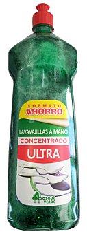 Bosque Verde Lavavajillas mano concentrado ultra Botella 1300 cc