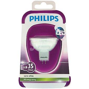 Philips 5,5 W (35 W) lámpara led blanco cálido GU5.3 Dicroica 1 unidad