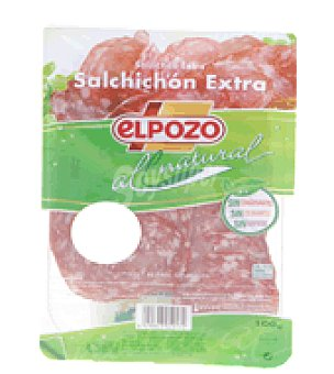 ElPozo Salchichón extra all natural 100 g