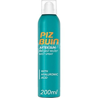 Piz buin After sun con ácido Hialurónico 48 horas de hidratación Spray 200 ml