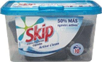 Skip Detergente caps.azul 10 UNI