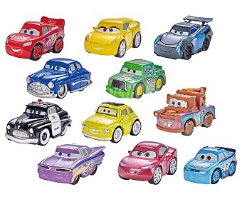 Cars Disney Surtido de coches en miniatura Micro Racers cars