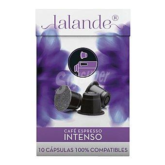 Lalande Café Espresso Intenso en cápsulas 10 ud