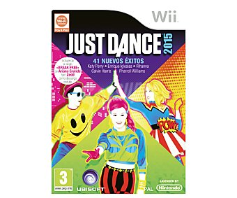 MUSICAL Just Dance 2015 Wii 1u