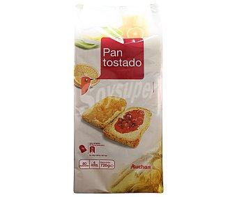 Auchan Pan Tostado 80 Unidades (720 Gramos)