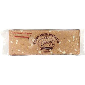 VICENS AGRAMUNT Turrón crujiente de yogur y almendra Tableta 300 g