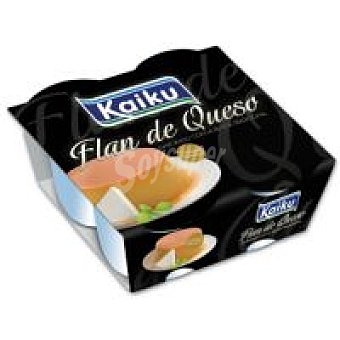 Kaiku Flan de queso Pack 4x110 g