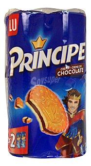 Principe de Lu Galleta rellena chocolate Pack de 2x250 g - 500 g