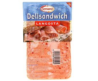 Carnicas Serrano Delisándwich de Langosta en Lonchas 130 Gramos