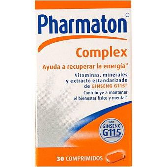 Pharmaton COMPLEX ayuda a recuperar la energía con vitaminas y minerales con Ginseng G115 recubiertos caja 30 comprimidos