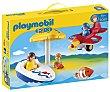 Escenario de juego Diversión en vacaciones, 1.2.3 6050, playmobil  Playmobil 1.2.3