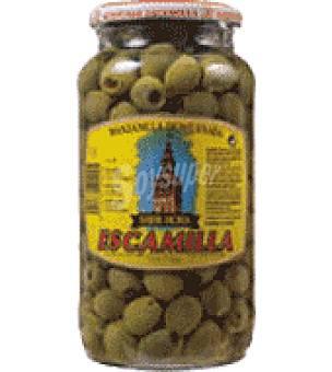 Escamilla Aceitunas verdes sin hueso sabor anchoa 450 g