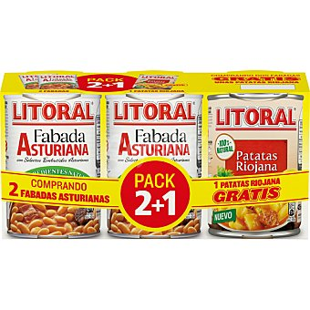LITORAL Fabada Asturiana  Pack 2x430 g
