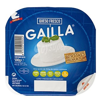 Gailla Queso fresco Tarrina 500 g
