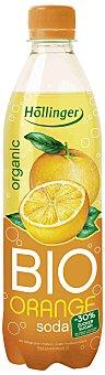 Hollinger Refresco de naranja ecológico con gas Botella 50 cl
